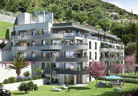 Programme immobilier neuf Beausoleil Sea View